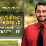 Transfer Student Credits VC with Helping Him Transition into University Life
