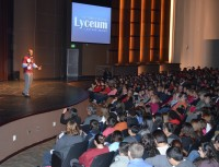 A large and appreciative audience attended the Victoria College Lyceum Lecture featuring Wes Moore, author, Rhodes Scholar, combat veteran, and youth advocate.