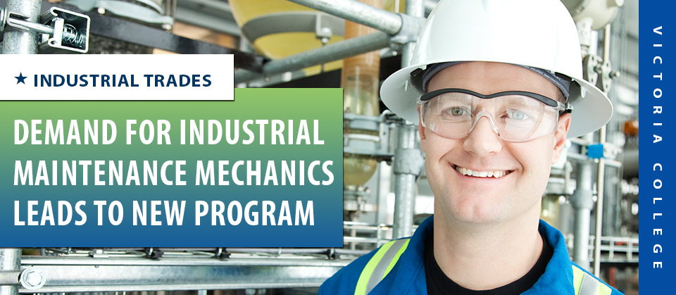 Demand for Industrial Maintenance Mechanics Leads to New Program ...
